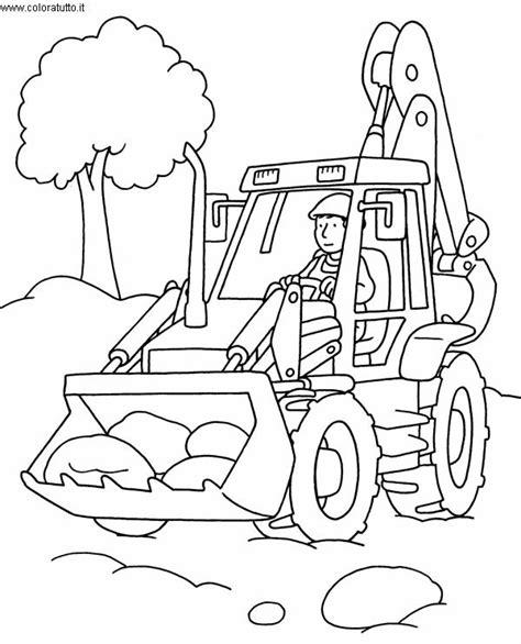 mezzi pesanti  disegni  bambini da colorare