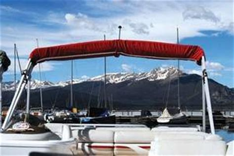 Pontoon Boats Lake Dillon by Dillon Marina And Yacht Club The Highest In America