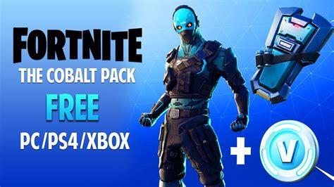fortnite  cobalt pack   code