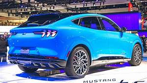 New 2021 Ford Mustang Mach-E - All Electric SUV - Exterior and Interior - YouTube