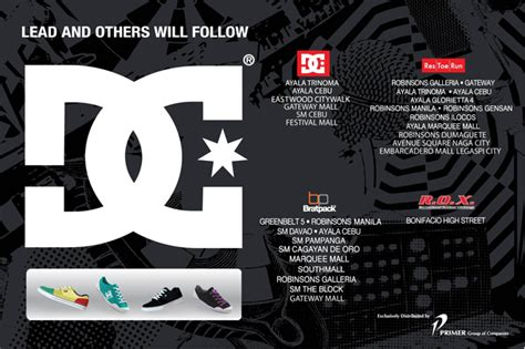 DC Shoes Philippines - Store Locator
