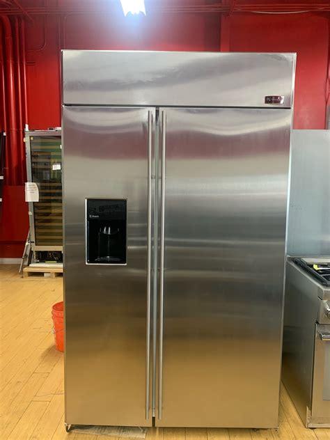 ge monogram  built  side  side refrigerator  dispenser discount appliances