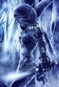 Darkness Warrior Woman