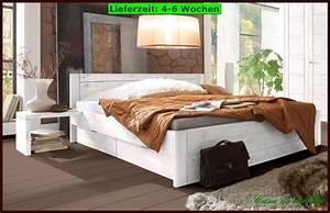 Bett 160x200 Holz : massivholz doppelbett schubladen bett schubkastenbett 160x200 holz kiefer massiv ebay ~ Watch28wear.com Haus und Dekorationen