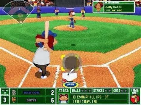 Backyard Baseball 2003 Game  Free Download Full Version