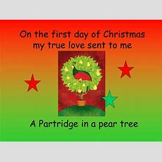 12 Days Of Christmas Power Point By Songlady  Teaching Resources Tes