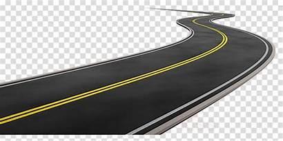 Road Clip Street Clipart Curve Transparent Cartoon