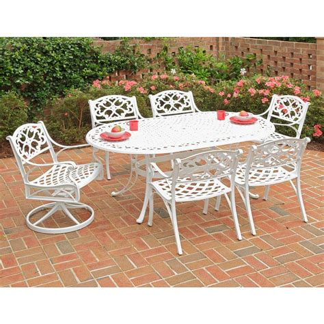 home styles biscayne white 7 patio dining set 4