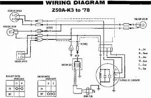 Honda Z50a K3 To 78 Wiring Diagram  61713
