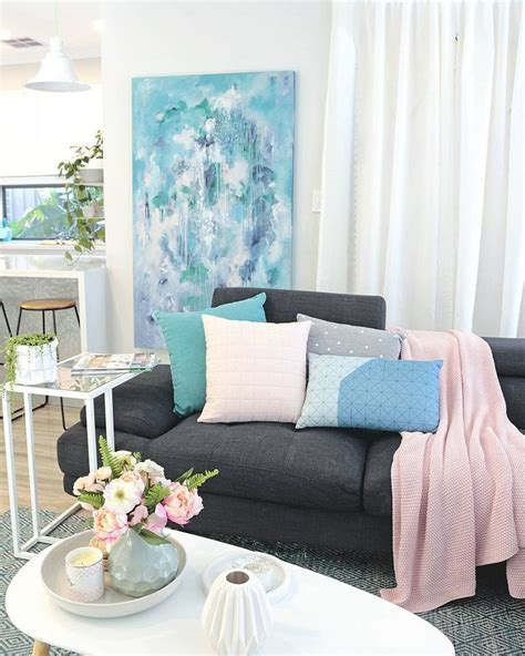 contemporary modern scandinavian australian living room in