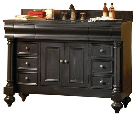 Black Distressed Bathroom Vanity by Guild 24 Quot Vanity Distressed Black And Gold Hill