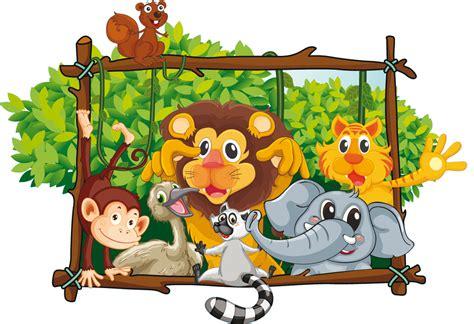 Vinilos folies : Vinilo infantil animales
