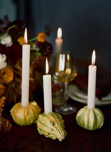 diy taper candle holders diy gourd candle holder with taper candles for