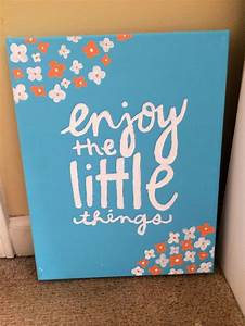 Cute Canvas Quote Painting Ideas Pixshark Com Images Galleries With A Bite