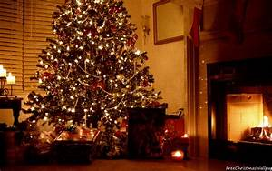 Christmas Fireplace 1680x1050