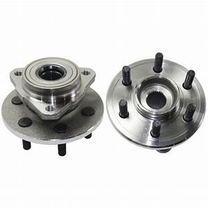 2 New Front Wheel Hub Bearing Assembly Fits Dodge 97