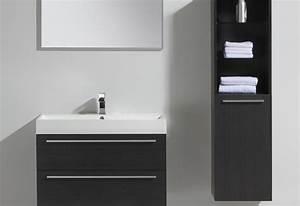 Meuble Salle De Bain 90 : meuble salle de bain bliss 90 collection meuble design thalassor ~ Teatrodelosmanantiales.com Idées de Décoration