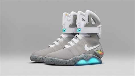nike mag  lacing sneakers  finally