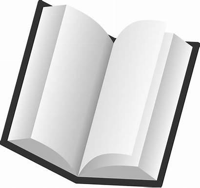 Open Clipart Transparent Reading Pages Clip Plain