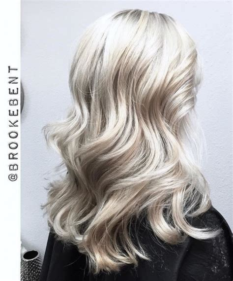 blonde white hair dye