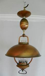 Vintage 196039s Hanging Ceiling Light Pull Down
