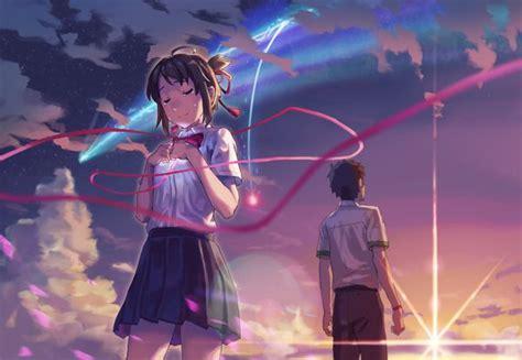 Anime Couple Terpisah Kimi No Nawa Kimi No Nawa Kimi No Nawa Your Name Pinterest Best