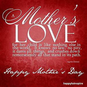 Mother Day 20 Inspirational Mother 39 S Day Quotes