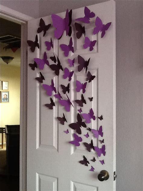 wall decor ideas butterfly butterfly wall decor ideas Diy