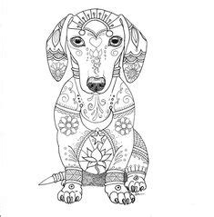 Best Dachshund Coloring Book Art Images