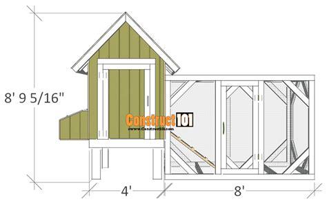 chicken coop plans design    construct