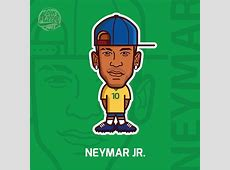 Football All Stars 2016 jogadores Pinterest Neymar