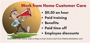 Work from Home Inbound Customer Care - $11.50, plus ...