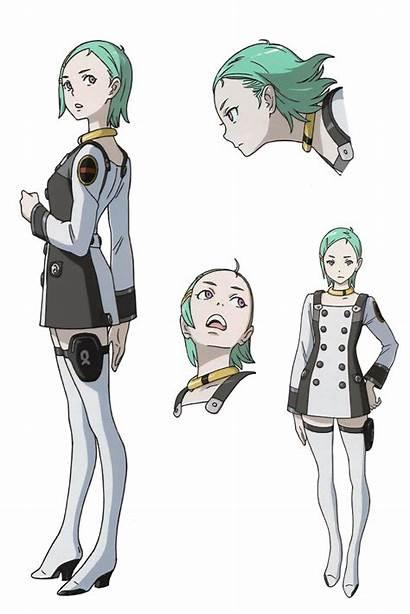 Eureka Seven Evolution Manga Hi Character Anime
