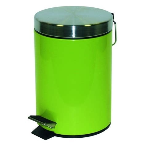 poubelle cuisine verte poubelle metal 5 litres verte