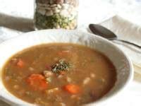 country kitchen calico bean soup recipe winter bean soup mix 9492