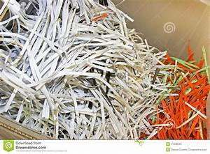 shredded confidential office documents stock photo image With shredded the documents