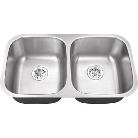 18 gauge stainless steel sink ipt sink company undermount 32 in 18 gauge stainless