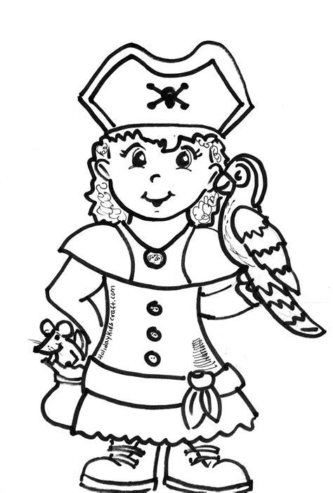 immagini pirati per bambini da stare bambina pirata da colorare disegni da colorare e
