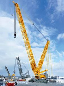 New Liebherr LR 11000 Crawler crane, first shown on Bauma ...