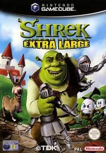 Shrek Extra Large Gamecube Game