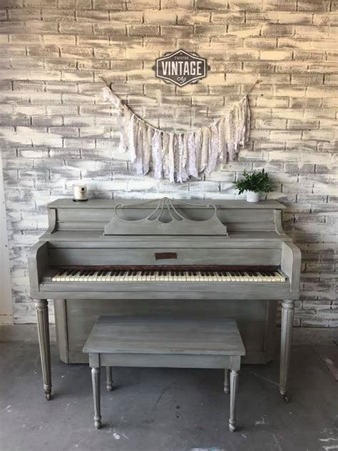 piano  empire gray chalk style paint general finishes