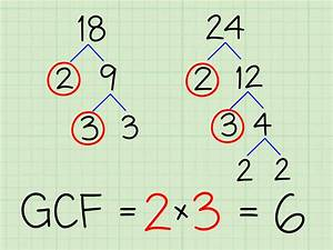 How to Find the Greatest Common Factor: 6 Steps (with ...  Factor