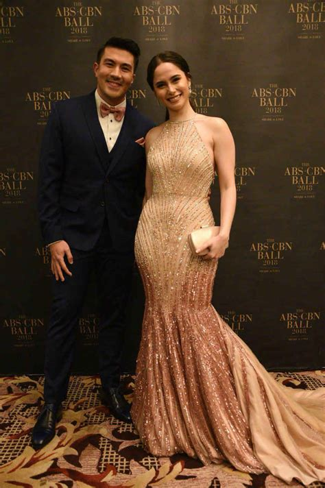 julia montes star magic ball 2018 in photos reel and real life couples at the abs cbn ball