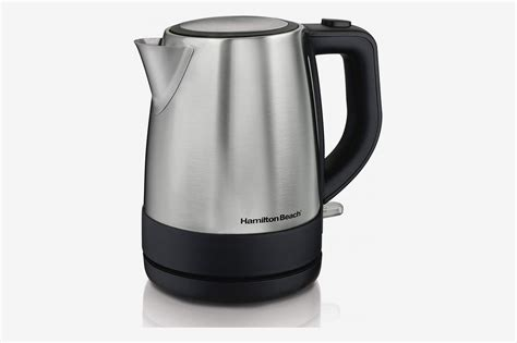 electric kettle kettles hamilton beach 1l silver amazon pixel reviewers according