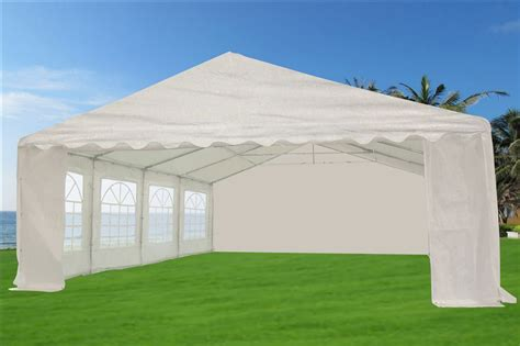 heavy duty white party tent gazebo canopy