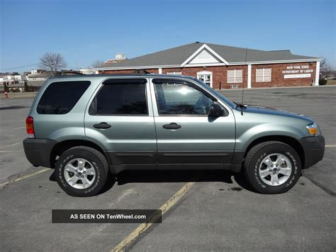2007 Ford Escape by 2007 Ford Escape Xlt 4 Wheel Drive V6 Engine