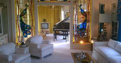 graceland living room peacock stained glassjpg