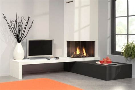contemporary corner gas fireplace corner gas fireplace livemodern your best modern home