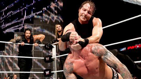 The Shield vs. Evolution — No Holds Barred Elimination ...