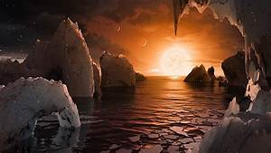 NASA Has Discovered 7 Earth-sized Planets 40 Light-Years Away